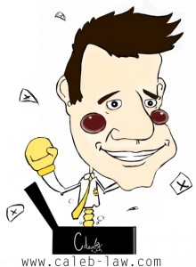 Nick Clegg Deputy Prime Minister Caricature