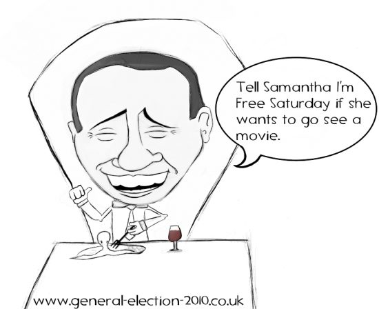 PM David Cameron Visits Rome on World Trip Political Cartoon