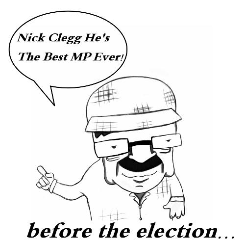 Sheffield Turns Against Nick Clegg