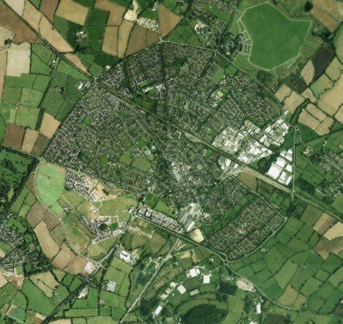 Case Study: Bicester Garden Town Map