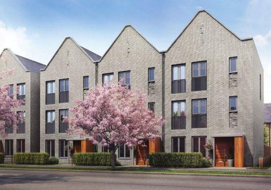 Housing Development Trumpington Meadows Cambridge