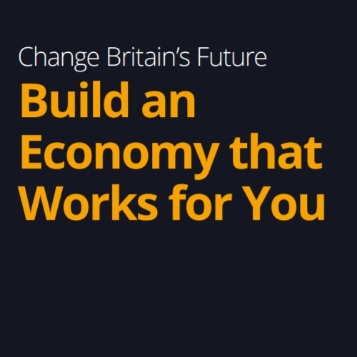Lib Dems Manifesto 2017 - Build an Economy that Works for You