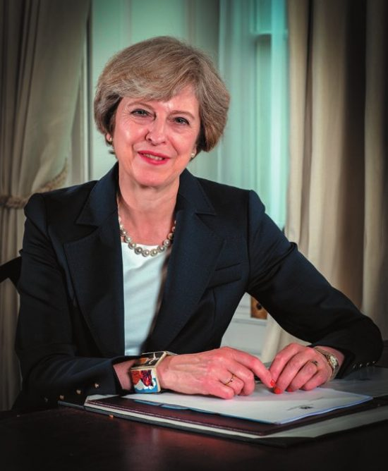 Prime Minister Rt Hon Theresa May MP