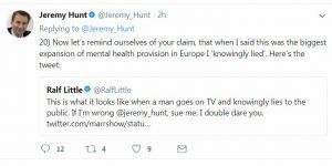 Ralph Little Knowingly Lied Tweet