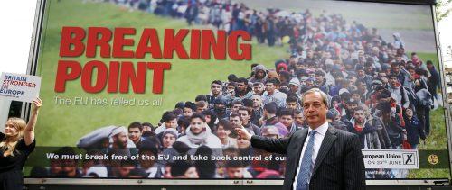 UKIP Breaking Point Immigration Poster